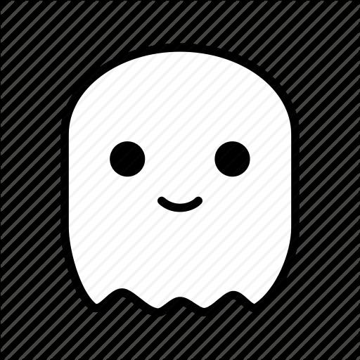 Avatar, Cute, Ghost, Halloween Icon