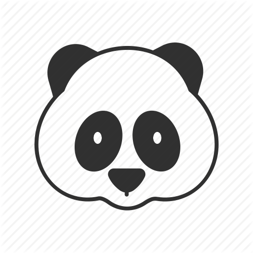 Panda Icon Transparent Png Clipart Free Download
