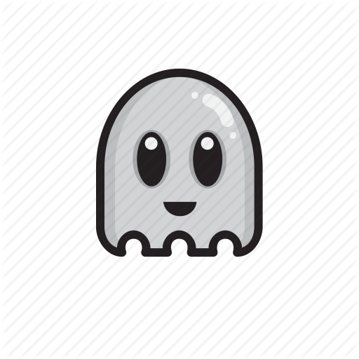 Cute, Death, Ghost, Scary Icon