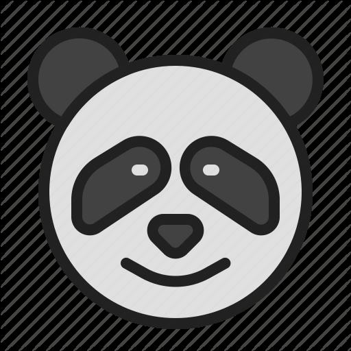 Animal, Cute, Mammals, Panda, Zoo Icon