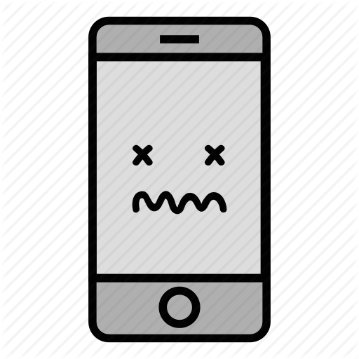 Call, Cell, Dead, Emoji, Iphone, Mobile, Technology Icon