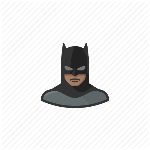 African, Batman, Dark, Knight, Superhero Icon
