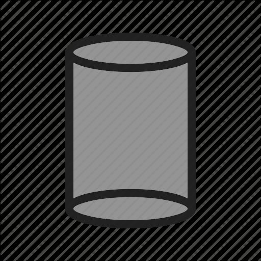 Cylinder, Formula, Mathematics, Perimeter, Sphere, Square, Volume Icon