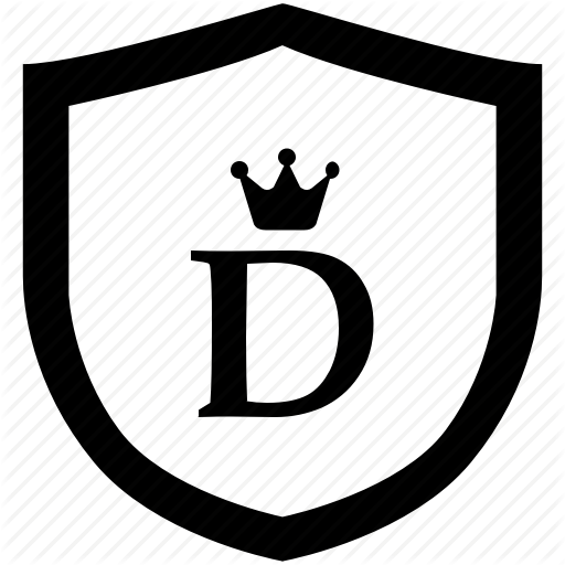 Alphabet, Crown, D, English, Letter, Royal Icon