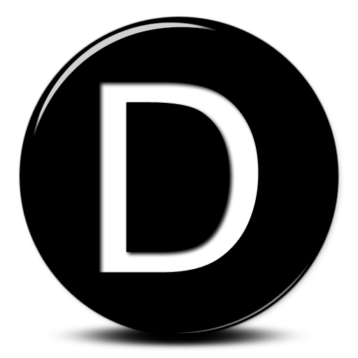 Letter D Vector Icon