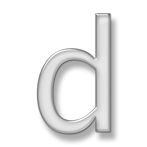 Letter D Windows Icons