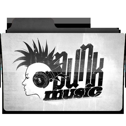 Punk Icon Music Folder Iconset Limav