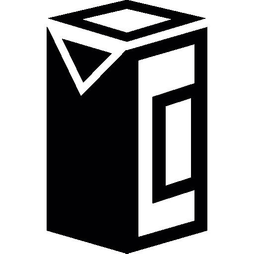 Milk Carton Box Icons Free Download
