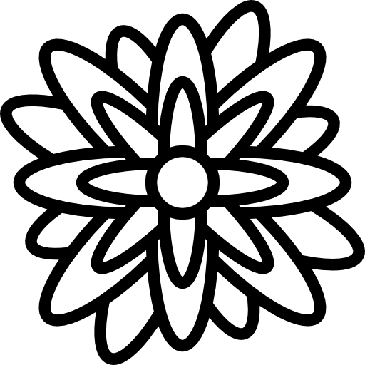Nature, Blossom, Petals, Botanical, Flower, Daisy Icon