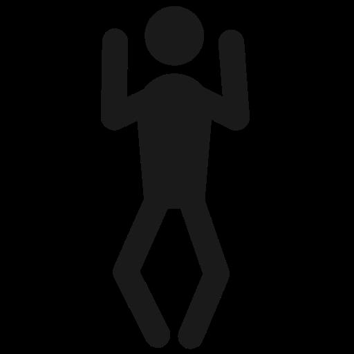 Human, Behaviour, Man, Happy, Fun, Dance, Joy Icon Free Of Human