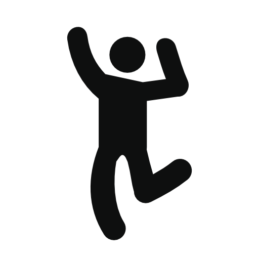 Man Dancing Free Vector Icons Designed