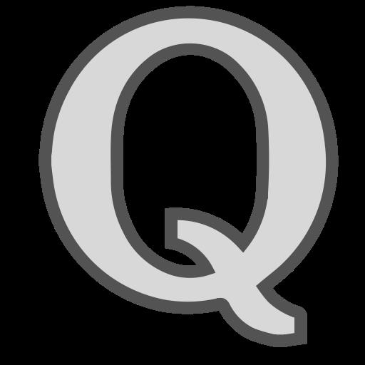 Q, Media, Single, Letter, Brand, Social Icon