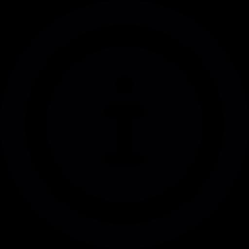 Information Dark Symbol Png Icon