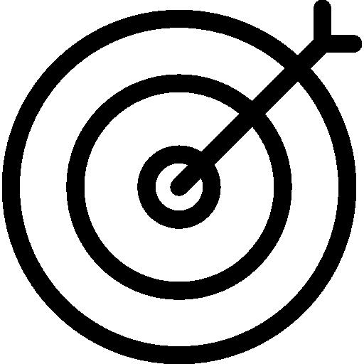 Dart Hitting Board Target Icons Free Download