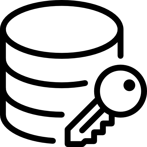 Encryption, Data Icon