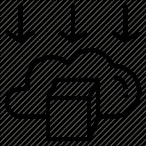 Analysis, Big, Cloud, Data, Input, Run, Server Icon