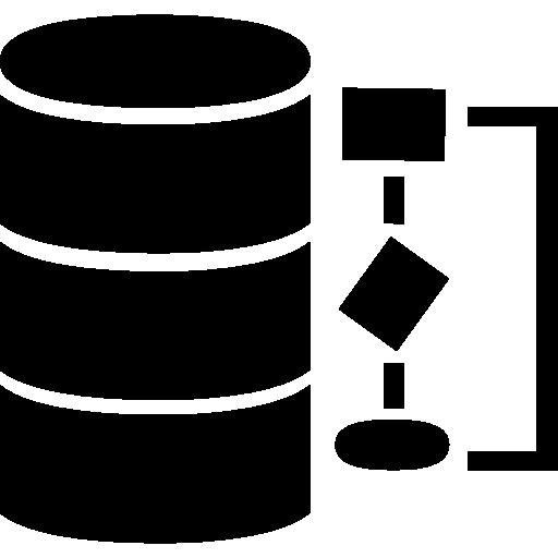 Data Management Symbol Icons Free Download