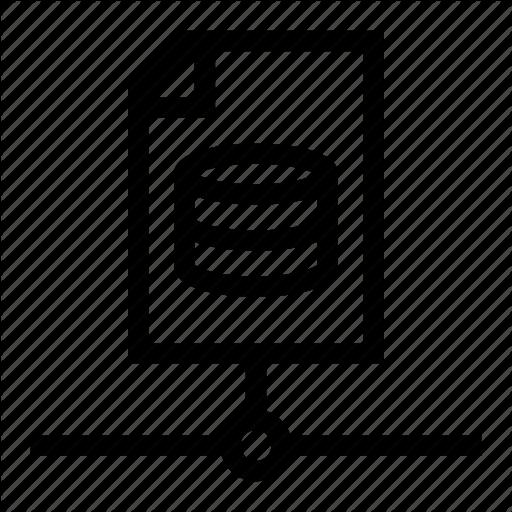 Data, Database, Document, File, Server Icon