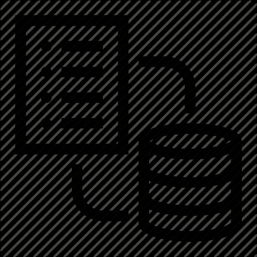 Data, Database, Exchange, Network, Server Icon