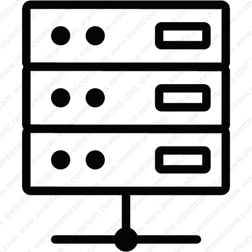 Download Network,connected,data,server,networking Icon Inventicons