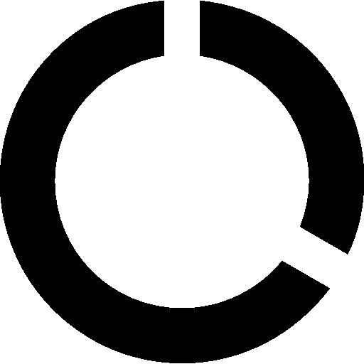 Round Data Usage Symbol Icons Free Download