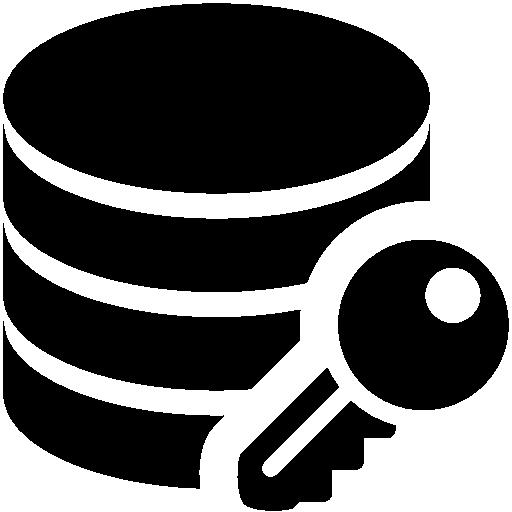 Database Encryption Icon Windows Iconset