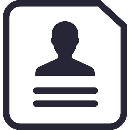 Contact Information, Documents, Employee Database Icon Png