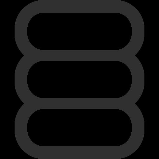 Database Icon Mono General Iconset Custom Icon Design