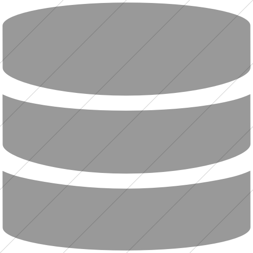 Simple Light Gray Broccolidry Database Icon