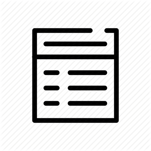 Database, Database Table, Dbms, Outline, Outline Icons, Redudancy