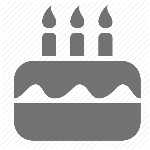 Birthday, Cake, Candle, Celebration, Event Icon