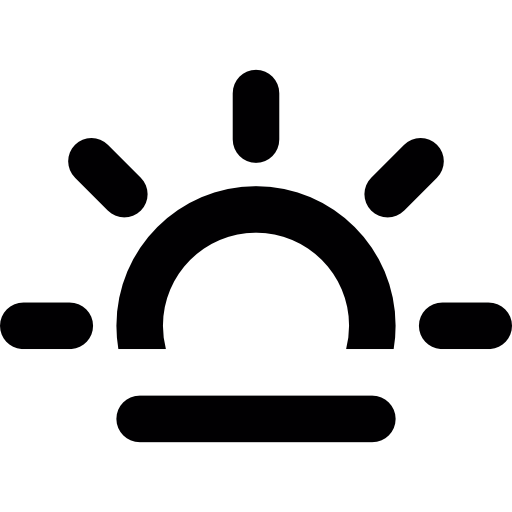 Dawn Sun Blunting Icons Free Download