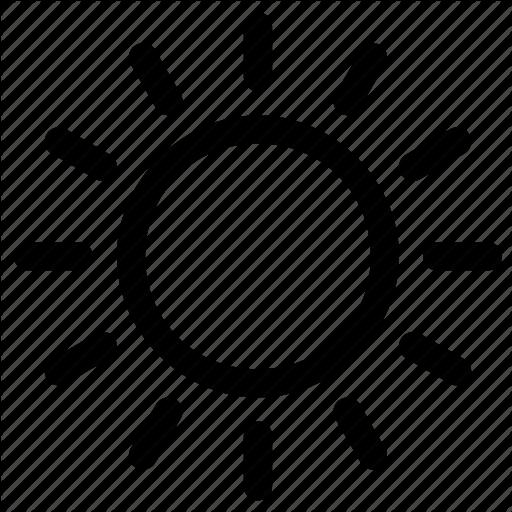 Day, Sunny Icon
