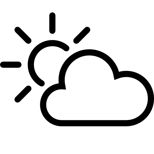 Partly Cloudy Day Icon Download Free Icons