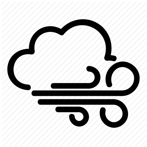 Cloud, Cloudwind, Day, Night, Weather, Windy Icon