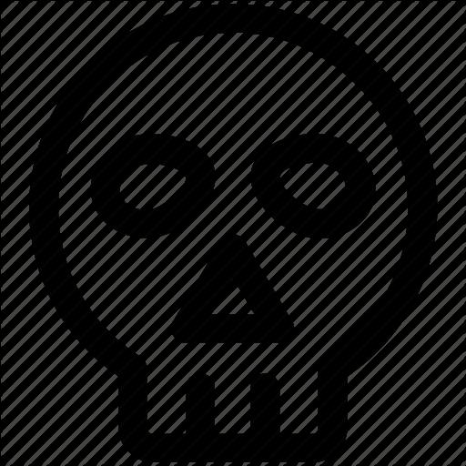 Dead, Death, Human Skull, Skull Icon Icon