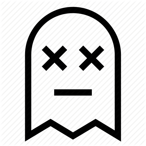 Dead, Ghost Icon