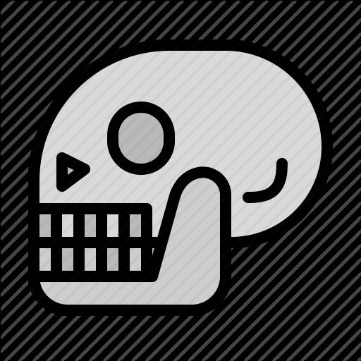 Anatomy, Bones, Dead, History, Parts, Skeleton Icon