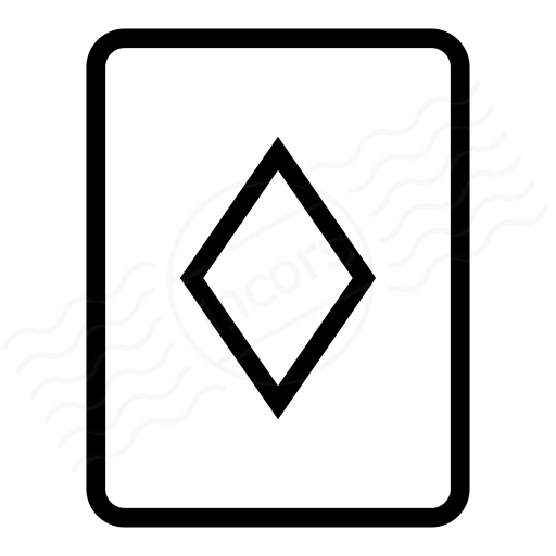 Iconexperience I Collection Playing Card Diamonds Icon