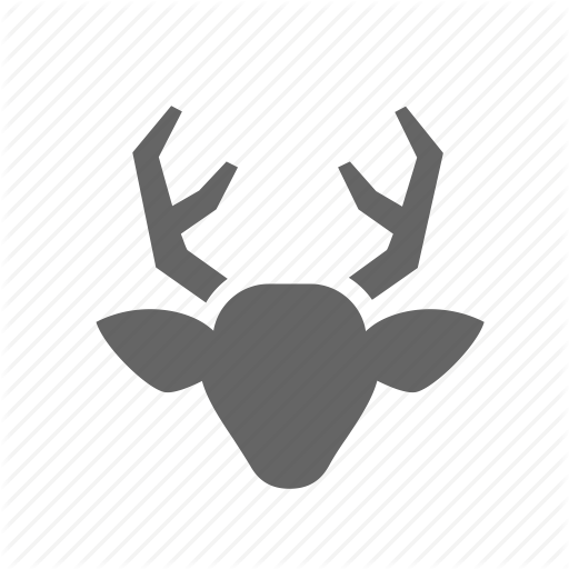 Animal, Deer, Head, Horns, Hunting, Trophy, Wild Icon