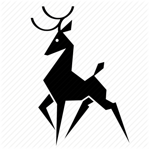 Africa, Deer, Forest, Jungle, Nature, Stag Icon
