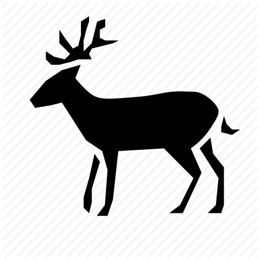 Animal, Deer, Forest, Nature, Wild Icon