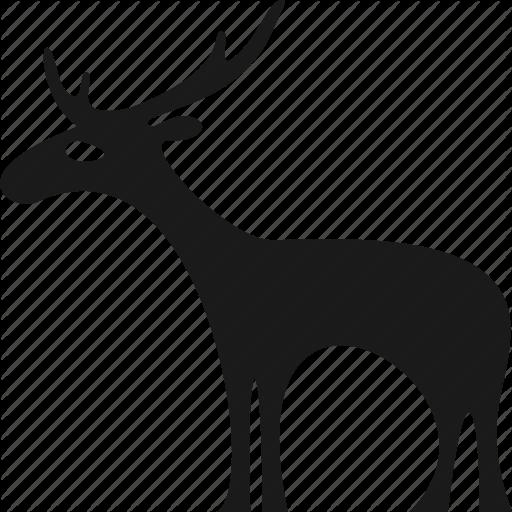 Animal, Deer, Meat, Moose, Wild Icon
