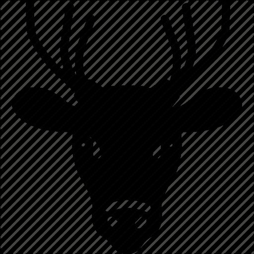 Animal, Deer, Zoo Icon
