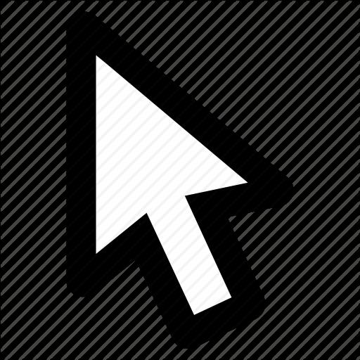 Arrow, Click, Cursor, Default, Mouse, Pointer Icon