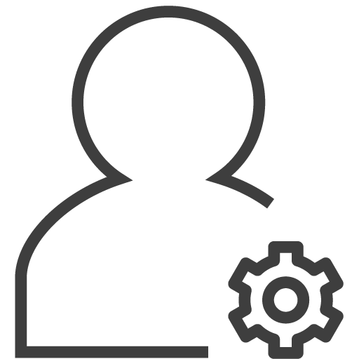 Setting Icon Silky Line User Custom Icon Design