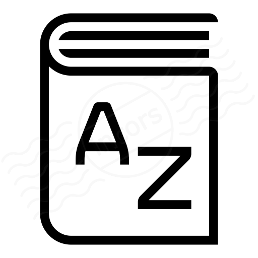 Iconexperience I Collection Dictionary Icon