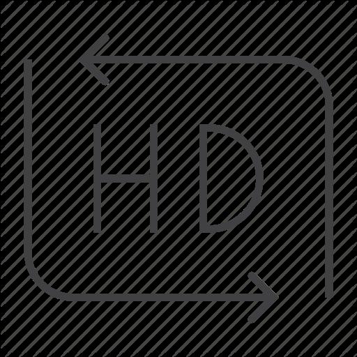 Cinema, Definition, Film, Hd, High, Movie, Video Icon