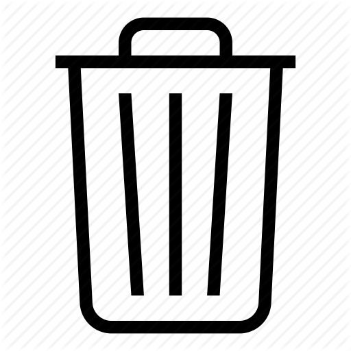 Apple, Bin, Delete, Deleted, File, Rubbish, Trash Icon