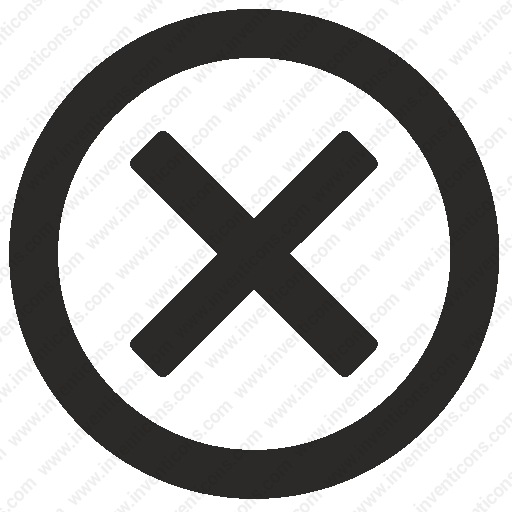 Download Cancel,close,delete,exit,removesvg Icon Inventicons